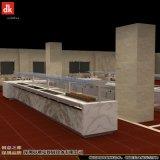 專業設計自助餐檯 機關單位政府餐廳自助餐線