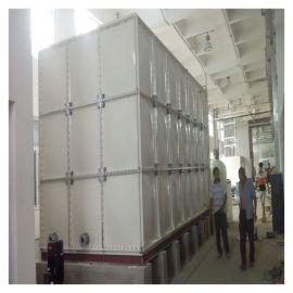 移动玻璃钢消防水箱 霈凯环保 模压水箱