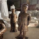 玻璃钢模型雕塑 人物造型雕塑