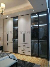 广州定制衣柜品牌,板式拼接安装
