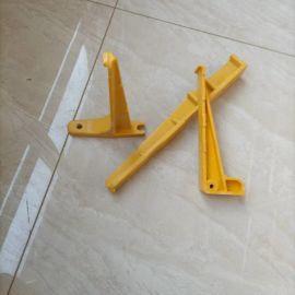 供应玻璃钢槽盒电缆梯子架整体式电缆托架