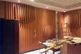 上海立面墙隔断铝格栅 热转印背景墙铝格栅厂家