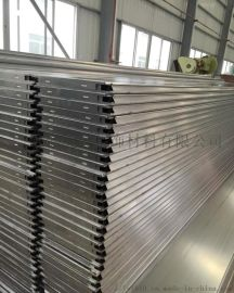 加油站顶棚装饰铝合金材质防风铝条扣/铝扣板天花