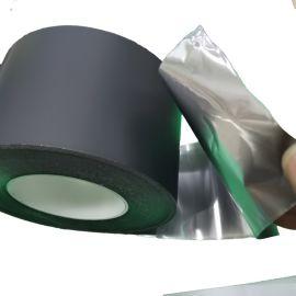 供应黑色纳米碳铝箔胶带 绝缘高导热纳米碳铝箔胶带