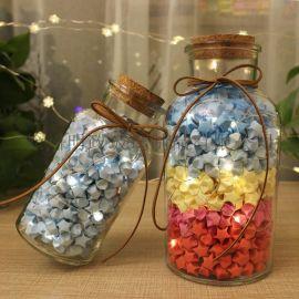 透明瓶玻璃瓶星星瓶许愿瓶漂流瓶幸运星瓶心愿瓶