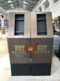 樓盤入戶雙色不鏽鋼門禁機立柱支架設計定做廠家