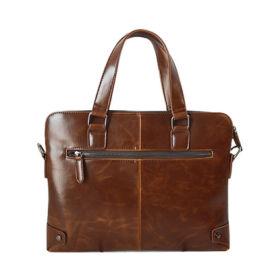 新款男包潮商務時尚男士手提包單肩斜挎公文包