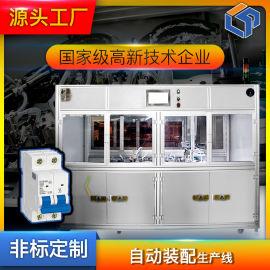 厂家直销奔龙自动化s262微型断路器止动件自动装配、参数移印设备