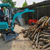挖掘机报价 履带式液压抓钢机 六九重工 温室大棚