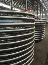 厂家定制钛盘管 钛换热器盘管