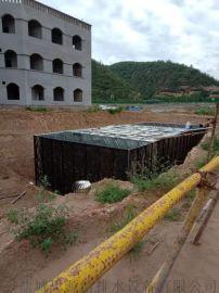 呼和浩特地埋式箱泵一体化水箱与泵房的设置