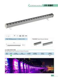 512段灯条 RGB洗墙灯 线条灯