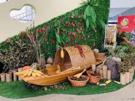 北京道具木船厂家出售室内装饰船乌篷船模型海盗木船