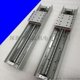 安成一字导轨高速精密研磨滑台线性直线滑台模组厂家好