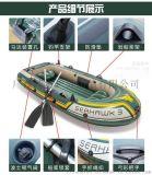 钓鱼船,加长橡皮船,3人充气船