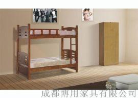 定制德阳宿舍高低床 绵阳儿童实木高低床厂家
