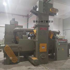 阳江氧化阳极电镀专用表面处理通过式抛丸机