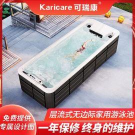 别墅花园泳池无边际冲浪  泳池浴缸