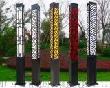 四川_景觀燈_戶外3米方形庭院燈_道路燈柱