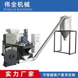 PE挤干机PE半塑化挤干机清洗甩干机 塑料PE PP通用挤干机