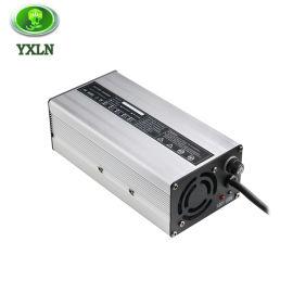 12V20A电动升高机堆垛车充电器12V100AH