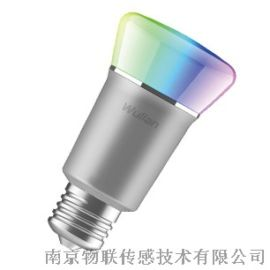 6W彩光球变彩灯泡炫彩智能照明系统