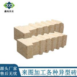 鑫地厂家 吊挂砖 锚固砖 异型耐火砖 来图定制