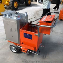 捷克供应 自走式热熔划线机 手推式热熔划线机