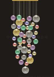 吊灯,铁,玻璃 PINIIPN6021中山