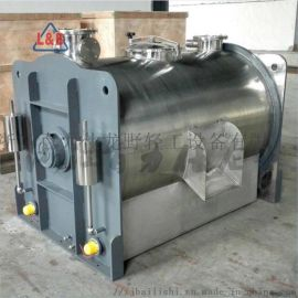 不锈钢卧式烘干机 厨余垃圾烘干机 可搅拌 电加热烘干机