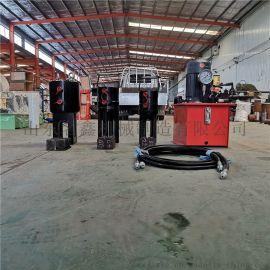 压钢绞线挤冷挤压机 厂家专业生锚索压挤机