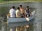 欧式休闲摄影两头尖手划木船