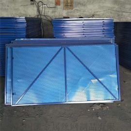 外架防护钢板网  钢制安全网 建筑脚手架爬架网