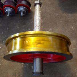 单双边车轮组 双梁角箱车轮组 优质实惠锻钢车轮组