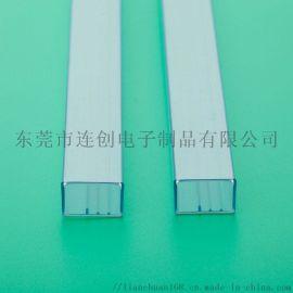 高透明PVC包装管不变形无毛刺IC料管定做