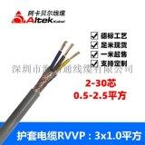 多芯电线rvvp rvvp厂家 屏蔽电缆rvvp