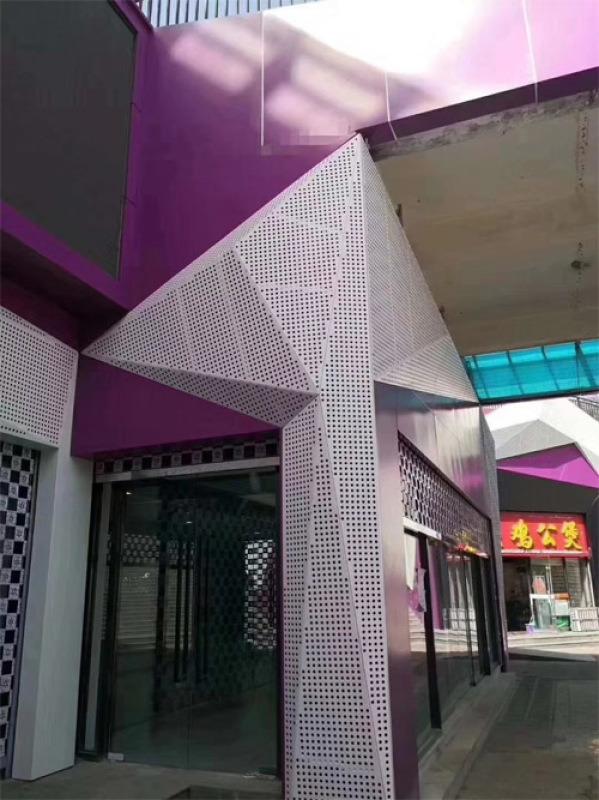 幕牆鋁單板 外牆鋁板什麼牌子好 鋁板幕牆廠家