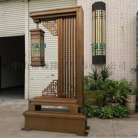 中式电镀拉丝庭院灯户外园林景观灯展示区特色灯