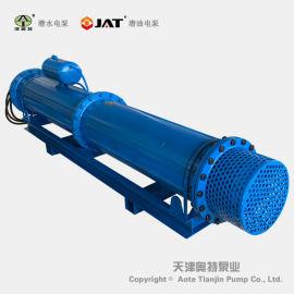 QJW卧式潜水泵, 大型卧用潜水泵, 多级潜水泵
