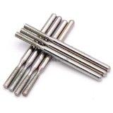 定做金剛石磨頭3mm柄 牙科針 合金打磨頭玉石磨頭