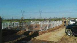 基坑围栏临边护栏,特殊钢格板,桥梁护栏定做