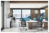 E0級MFC板環保耐用上金辦公家具特倫德系列大班桌