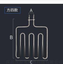 干蒸房/桑拿炉专用 电加热管锈钢桑拿管 方形炉条