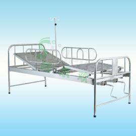 家用护理床, 三折护理床,不锈钢双摇床