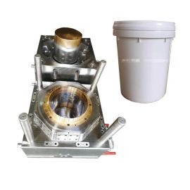 镶铍铜20L涂料桶模具 专业设计制造注塑模具