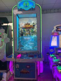 我的海洋 成色佳,甩杆捕鱼游戏机 可投币大型模拟机 游戏逼真