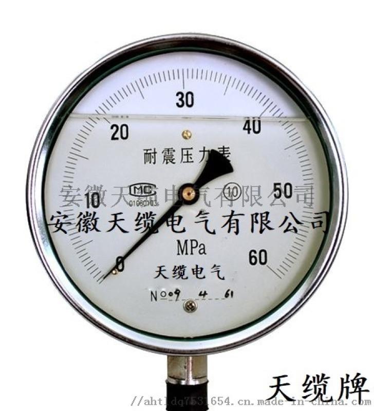 电接点隔膜压力表YXTP-100天缆电气压力表