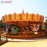 遊樂園雙層旋轉木馬 新疆專注製造豪華雙層轉馬企業