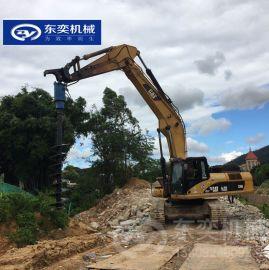 基础工程快速成孔螺旋钻 挖机旋挖钻孔机