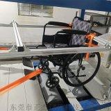 轮椅车疲劳试验机带假人 轮椅车结构强度试验机